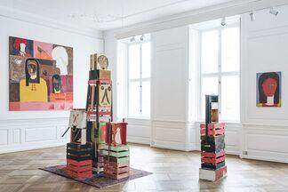 Farshad Farzankia   Bread and Flower, installation view