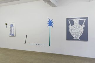 """TIMOTHY HULL, """"PASTICHE CICERO"""", installation view"""