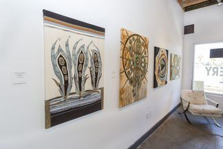 REMATERIALIZED Fiber Art by Rosanne Giacomini, installation view