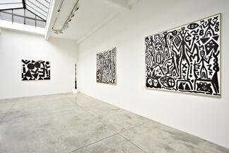 A.R. Penck, installation view