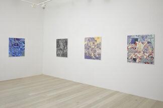 GAN Painting, installation view