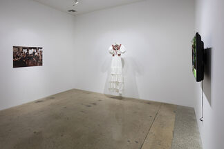 Alas I was Cured, installation view