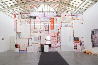 "Mimosa Echard, Hannah Buonaguro, Ryan Foerster - ""Spitting an image of you"", installation view"