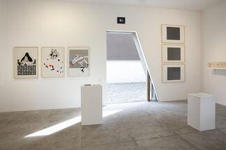 JULIO PLAZA, installation view