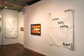 Dirty Words, installation view