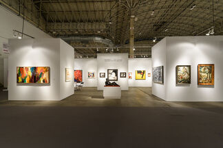 Vallarino Fine Art at Expo Chicago 2015, installation view