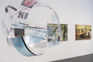 I Was Raised on the Internet, installation view