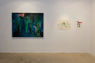 Yoav Hirsch - Suddenly You Decided You're A Sun, installation view