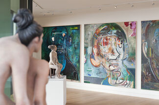 New Revisions: Art in Residence, installation view