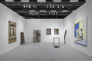 Michel Rein Paris/Brussels at The Armory Show 2017, installation view