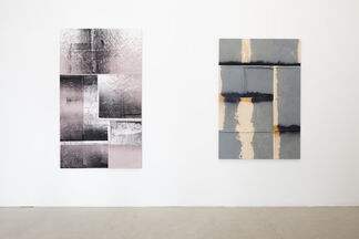 Der Grund ist nicht Licht, sondern Nacht - Yorgos Stamkopoulos, Julie Oppermann, Alexander Wolff, installation view