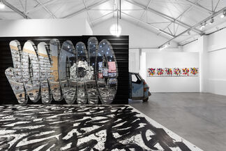 The Border, installation view