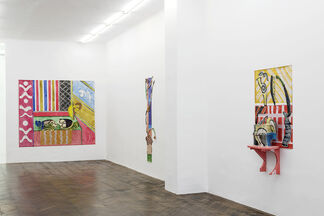 Betty Woodman - Florentine Interiors, installation view