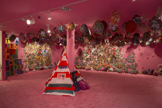Ebony G. Patterson: ...when they grow up..., installation view