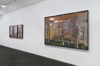 Bryan Zanisnik - Brass Arms Upper Eyelid, installation view