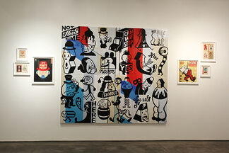 Gary Taxali - Hotel There, installation view