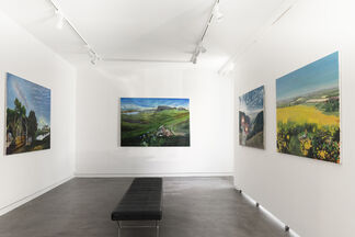 Through Hardships to the Stars, installation view
