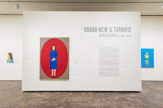 Brand-New & Terrific: Alex Katz in the 1950s, installation view