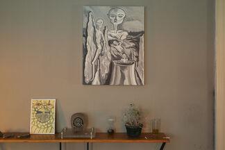 Tomasz Kowalski - Golden Ladder, installation view