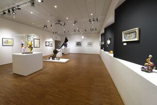 NIKI DE SAINT PHALLE AND JEAN TINGUELY Duo. Rebel souls, kindred spirits. Interwined destinies within art, installation view