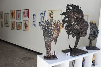 Philippe Buil's Sculptures exhibition, installation view