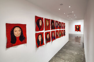 Rag face, installation view