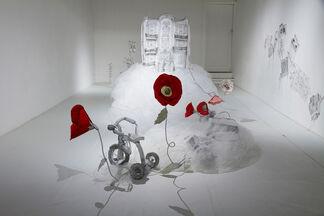 Jannick Deslauriers: Fracture, installation view