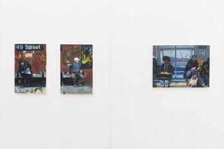 """John Wentz: """"Navigation Unknown"""", installation view"""