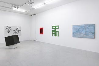 Zehn Jahre Zürich, installation view