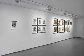 Josh Smith / Dieter Roth, installation view