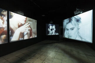 Andy Warhol: Film Portraits, installation view
