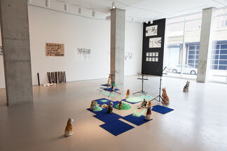 Lombard Freid Gallery: Kemang Wa Lehulere: Sleep is for the Gifted, installation view