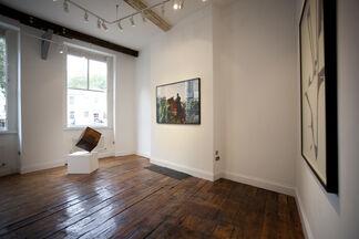 Repentista II, installation view