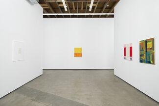Matt Connors: Bottoms, installation view