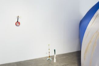 Alula In Blue, installation view