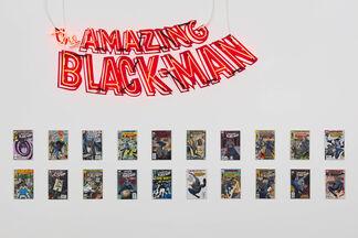 Kumasi J. Barnett | The Amazing Black-Man, installation view