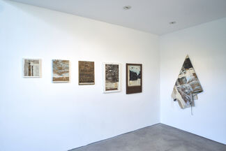 Three steps to the left one step forward, installation view