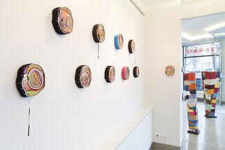 François R. du Plessis - Der rote Faden, installation view