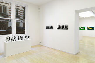 Julian Opie: Editions 2012 - 2015, installation view