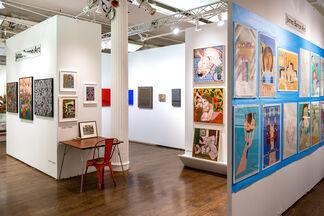 James Barron Art at Outsider Art Fair 2020, installation view