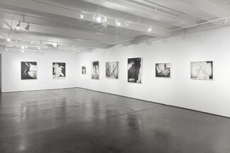 """Lauren Semivan """"Pitch"""", installation view"""