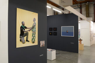 LhGWR at Art Rotterdam 2016, installation view