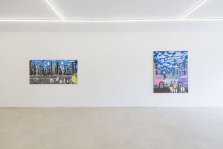 STEVE CANADAY - PAINTINGS, installation view