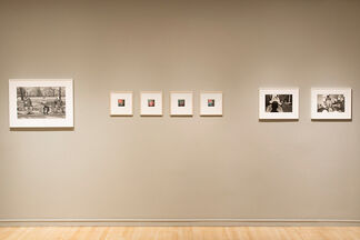 Back, installation view