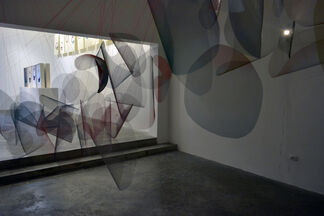CAMPOS DE FUERZA (Force Fields), installation view