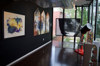 The Theory of Color: Color and Intent in Abstraction, installation view