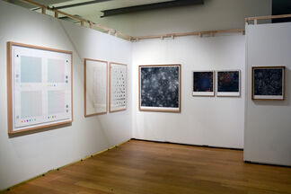 Art on paper, installation view