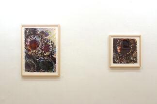 Beauteous Strivings: Fritz Ascher, Works on Paper, installation view