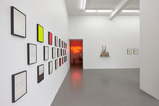 Peter Liversidge: C-O-N-T-I-N-U-A-T-I-O-N, installation view