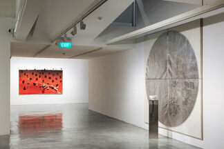Turning the Axis of the World, installation view